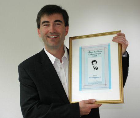 Electrocompaniet - Vebjorn Tandberg Award